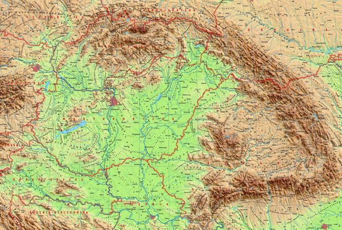 Карпаты где находятся на карте мира